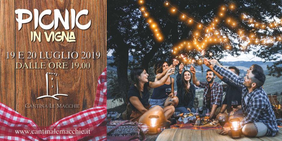 Picnic in vigna 19-20 luglio 2019